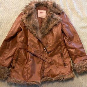 John Baner Terra-cotta PENNY LANE coat
